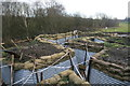 SJ8248 : Apedale Valley Light Railway - reconstructed WWI trench by Chris Allen
