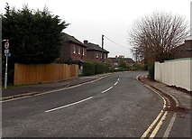 SU5290 : Towards the southern end of Station Road, Didcot by Jaggery
