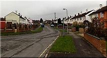 SU5290 : West along Edinburgh Drive, Didcot by Jaggery