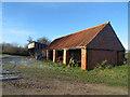 SE9132 : Barn near Drewton Farm by Ian S