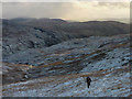 NY4609 : New snow above Wren Gill by Karl and Ali