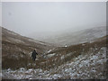 NY4608 : Snowing in Wren Gill by Karl and Ali