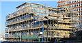 TQ7568 : New block of apartments by David Anstiss