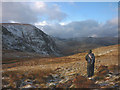 NY4609 : The north east face of Harter Fell by Karl and Ali