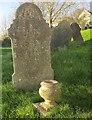 SX6942 : Churchyard, All Saints, South Milton by Derek Harper