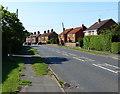 TF6832 : B1440 Lynn Road in Ingoldisthorpe by Mat Fascione