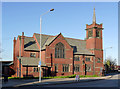 SK4958 : Sutton-in-Ashfield United Reformed Church, High Pavement by Alan Murray-Rust