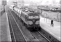 J1586 : The CIE weed spraying train, Antrim (June 1983) by Albert Bridge