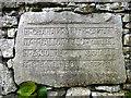 SD5075 : Dedication stone, Yealand War Memorial (2) by Karl and Ali