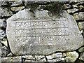 SD5075 : Dedication stone, Yealand War Memorial (3) by Karl and Ali