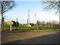 TG0018 : Transmitter mast at Robertson Barracks by Evelyn Simak