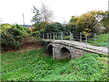 SO5012 : Grade II* listed Clawdd-du Bridge, Monmouth by Jaggery