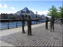 O1634 : Dublin - Famine Memorial, Custom House Quay by Colin Park
