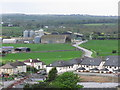 S4956 : Kilkenny - View from Round Tower Bonnetstown Rd (close up) by Colin Park
