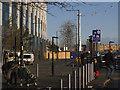 TQ3979 : Shared Surface Zone, Phoenix Avenue, SE10 by Stephen Craven
