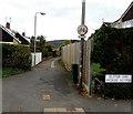 SO5012 : Footpath towards Clawdd-du Bridge, Monmouth by Jaggery