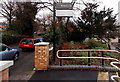 SO7847 : Osborne Road entrance to Malvern Link railway station by Jaggery