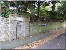 SX9263 : Filled-in arch, Lincombe Drive, Torquay by David Smith