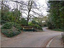 SX9363 : Shelter, Lincombe Drive, Torquay by David Smith
