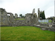 S4943 : Part of the ruins of Kells Priory by Humphrey Bolton