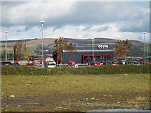 NS3174 : Costa Coffee, Port Glasgow by Thomas Nugent