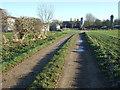 TA0753 : Farm track (bridleway) heading west towards Brigham by JThomas