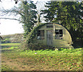 TG0318 : Asbestos hut from WW2 by Evelyn Simak