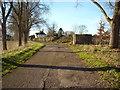 SU0571 : Type 22 pillbox, north perimeter of former RAF Yatesbury air base, Juggler's Lane by Vieve Forward