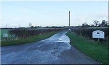 SE4169 : The road to Burton Grange by Christine Johnstone