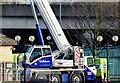 J3474 : Road crane, Queen's Quay, Belfast (December 2014) by Albert Bridge