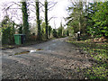 TG0111 : Entrance to Gadwall Farm, Spring Lane by Adrian S Pye