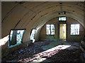 TG0318 : Asbestos hut (interior) by Evelyn Simak
