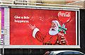 J3374 : Coca-Cola Christmas poster, Belfast (December 2014) by Albert Bridge