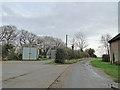 TG0615 : Nissen huts as farm buildings at Green farm by Adrian S Pye
