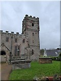 SX9696 : Tower of Poltimore church by David Smith