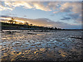 NH7265 : Mudflats of the RSPB Udale Bay Reserve by Julian Paren