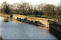 SK7953 : Longstone Bridge by Richard Croft