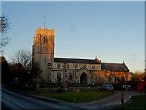 TL3949 : All Saints' church, Barrington by Bikeboy