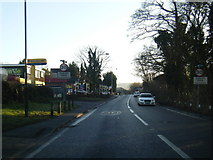 SK2664 : A6 southbound at Darley Dale village boundary by Colin Pyle