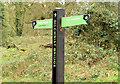J3168 : Fingerpost towpath sign, Edenderry - December 2014(1) by Albert Bridge