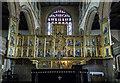 SK7953 : Triptych reredos, St Mary Magdalene church, Newark by Julian P Guffogg