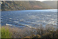 SN9264 : Waves on Caban-coch reservoir by Nigel Brown