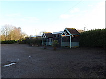 TM3869 : Yoxford Antiques Centre & Flying Goose Cafe by Adrian Cable