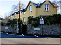 SO2118 : No footway for 400 yards, Castle Road, Crickhowell  by Jaggery