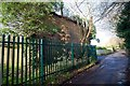 TQ7736 : Cranbrook Drill Hall Small Bore Rifle Range Butts End Causton Road Cranbrook by Peter Skynner