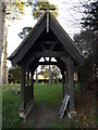 TM3669 : St.Peter's Church Lych Gate & War Memorial by Adrian Cable