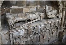 TF3244 : A Knight of St John, St Botolph's church, Boston by Julian P Guffogg