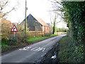 TG0609 : Church Road, Welborne by Evelyn Simak