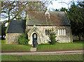 TG0610 : Flint cottage beside All Saints' church by Evelyn Simak