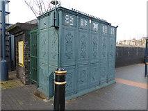 SP0687 : Cast iron urinal, Vyse Street, Jewellery Quarter by Chris Allen